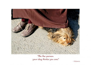 Thinking of You Card - Dog