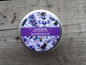 Natural Solid Body Moisturizer - Lavender
