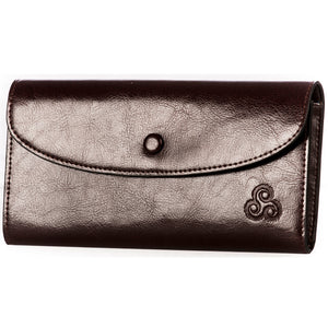 Celtic Triskele Leather Wallet