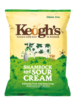 Load image into Gallery viewer, Keogh's Shamrock and Sour Cream Crisps