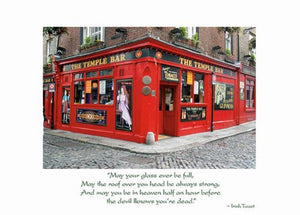 Temple Bar Birthday Card