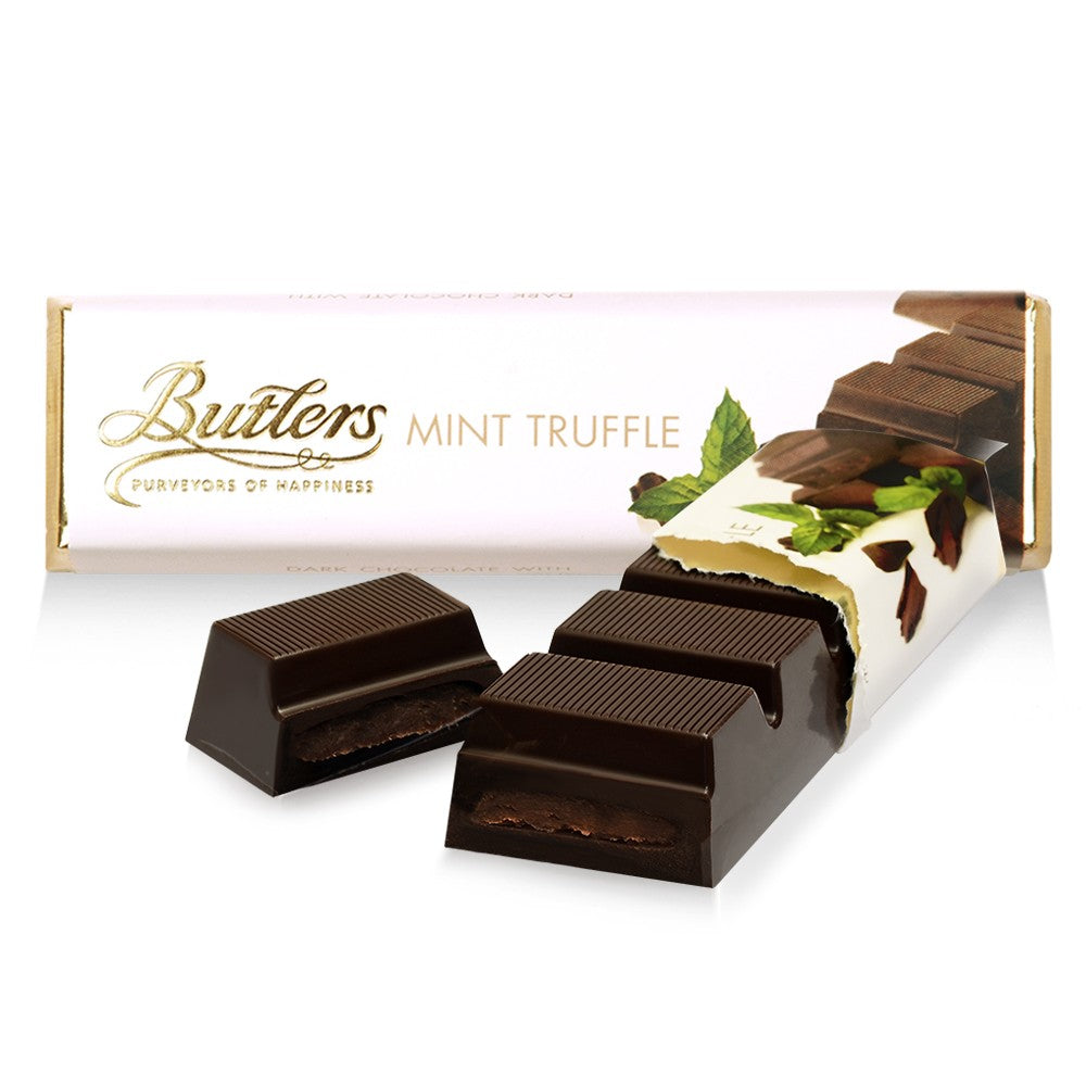 Butlers Dark Chocolate Mint Truffle Bar