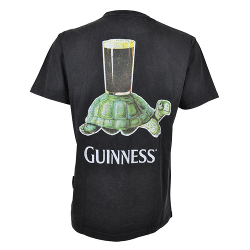 Guinness Premium Vintage Turtle Back Graphic Tee