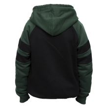 Load image into Gallery viewer, Kids Green and Black Irish Hoodie