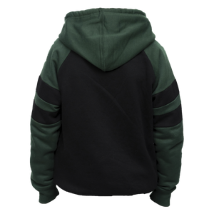 Kids Green and Black Irish Hoodie