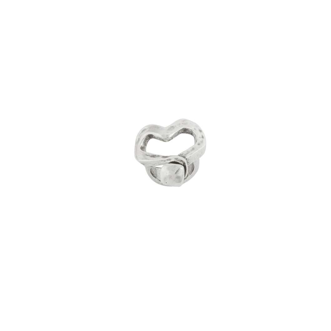 Uno de 50 Nailed Heart Ring - Corazon n Clavado
