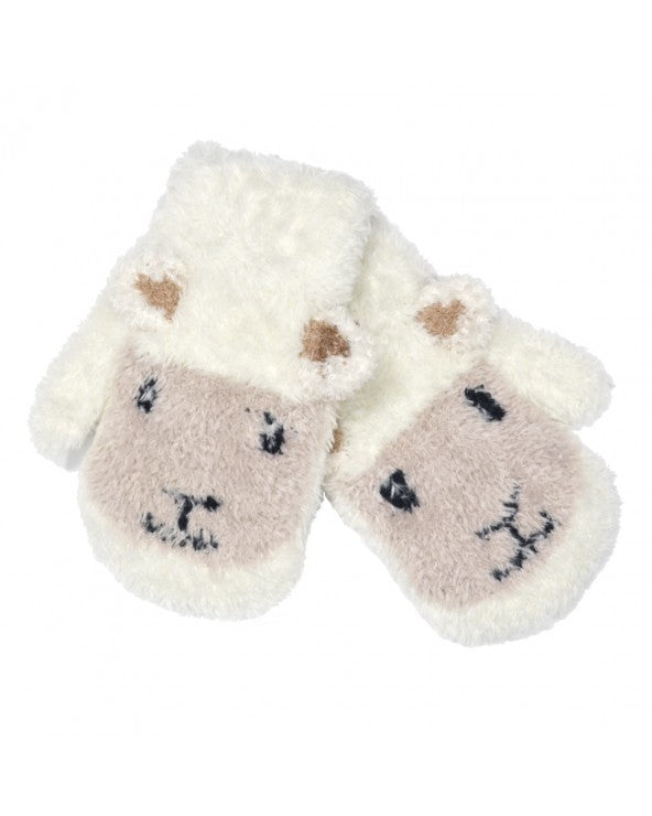 Patrick Francis Ireland Cream Sheep Baby Mittens