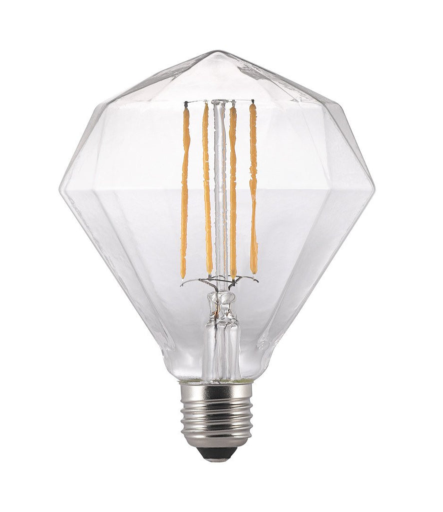 Geometric LED Filament Squirrel Cage E27 Bulb-DEVOTEDTO