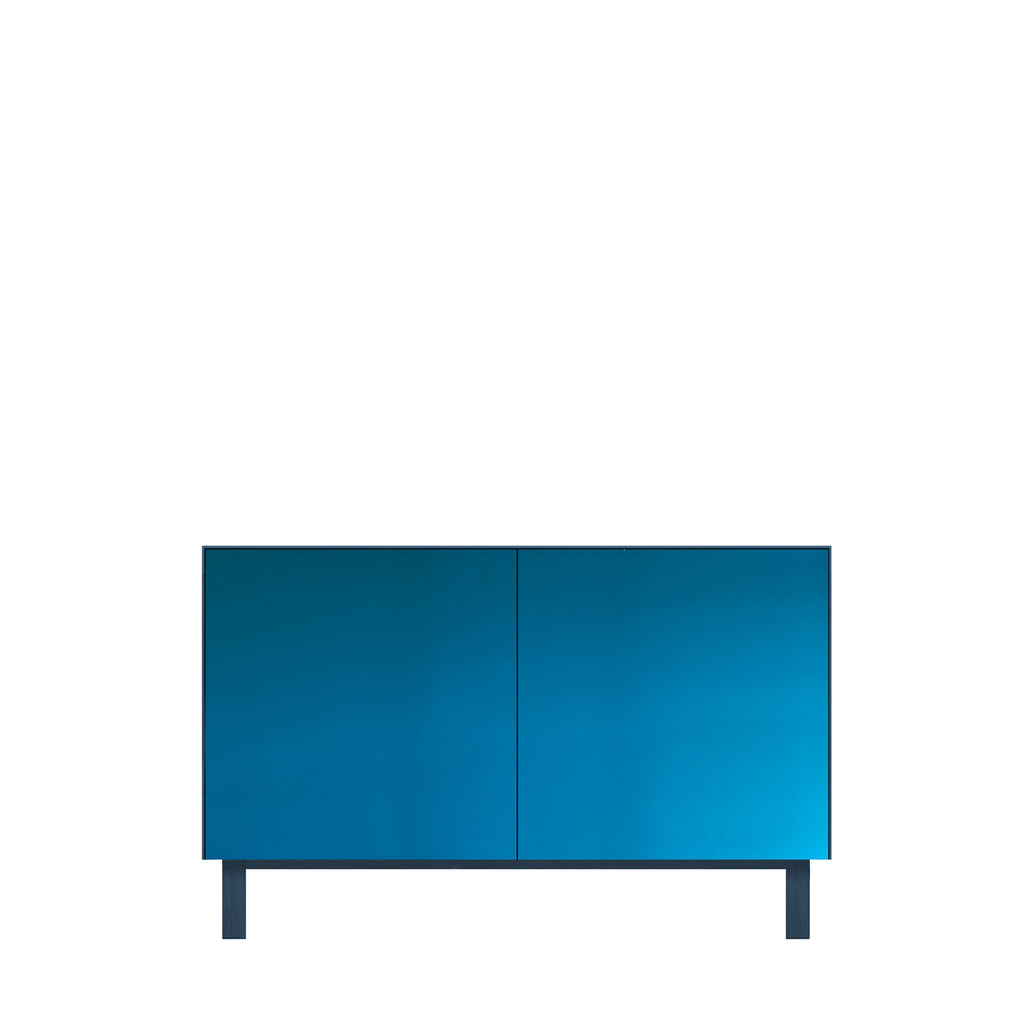 Another Brand - Cubo Rectangular Cabinet - 2 Doors, Mirror Finish-DEVOTEDTO