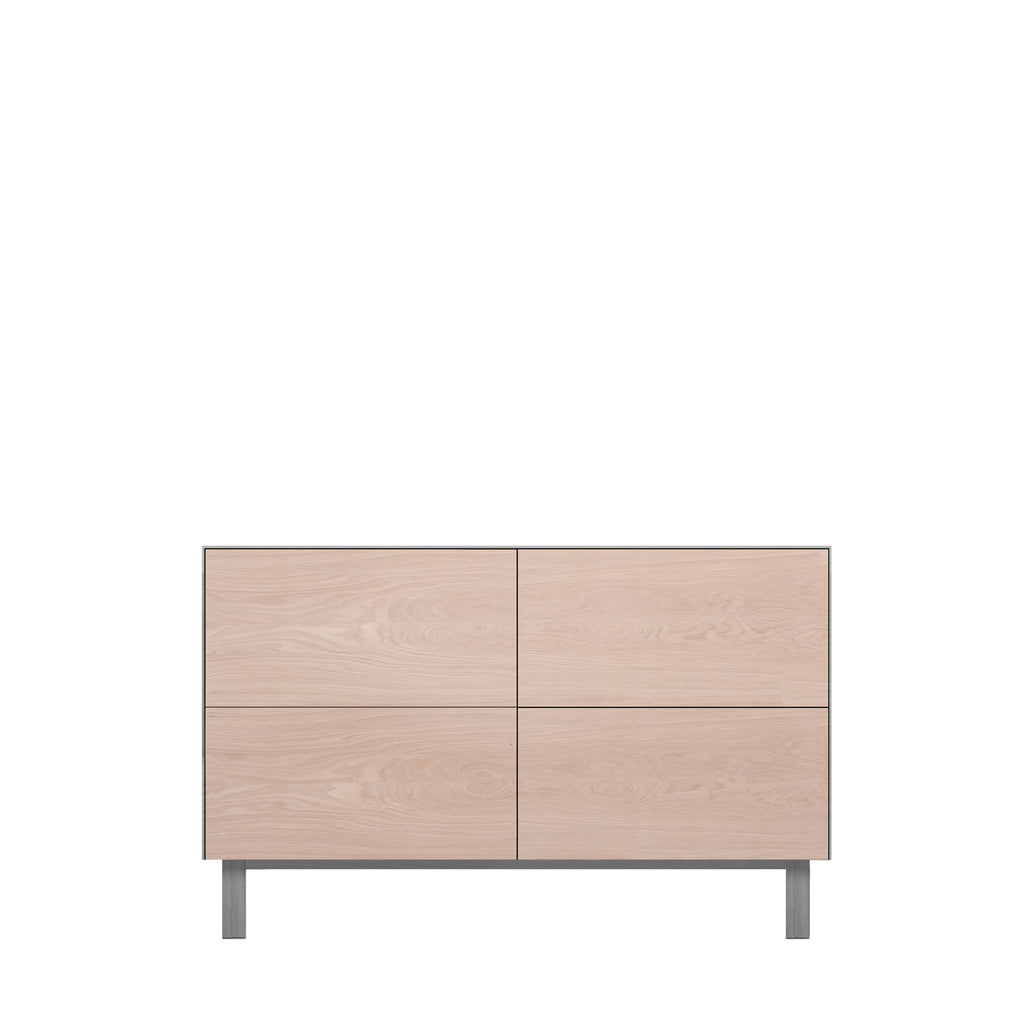 Another Brand - Cubo Rectangular Cabinet - 4 Drawers-DEVOTEDTO
