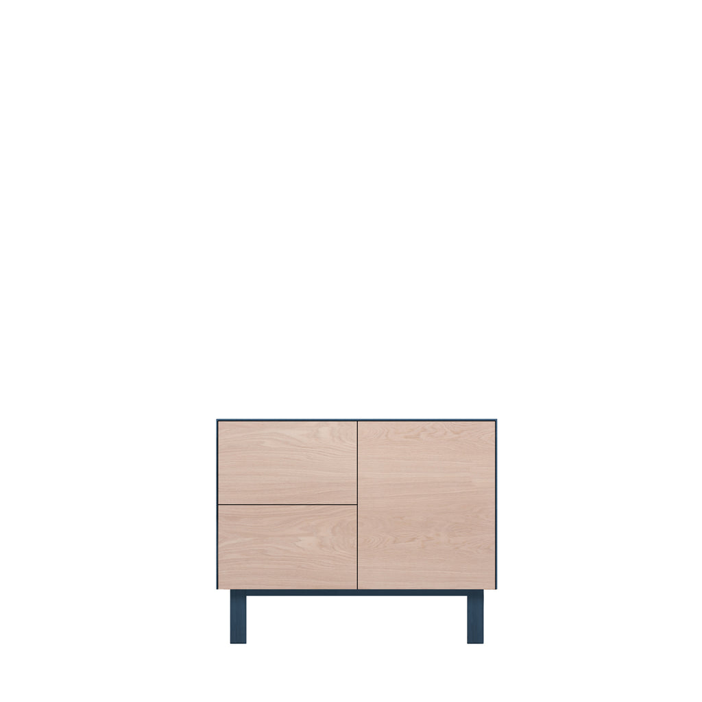 Another Brand - Cubo Sideboard - 1 Door & 2 Drawers-DEVOTEDTO