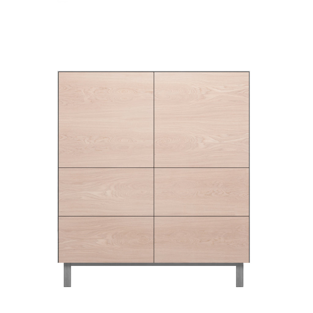 Another Brand - Cubo Square Cabinet - 2 Doors & 4 Drawers-DEVOTEDTO