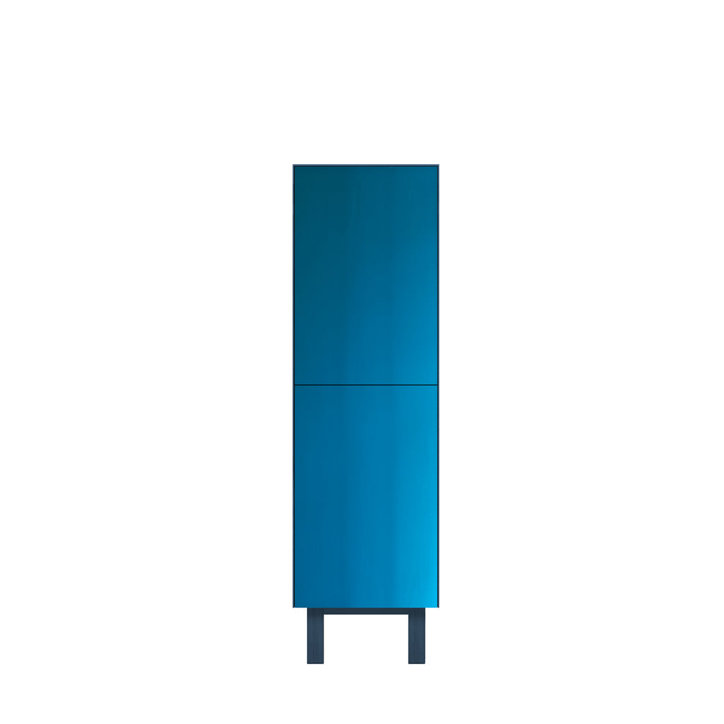 Another Brand - Cubo Tallboy - 2 Doors, Mirror Finish-DEVOTEDTO