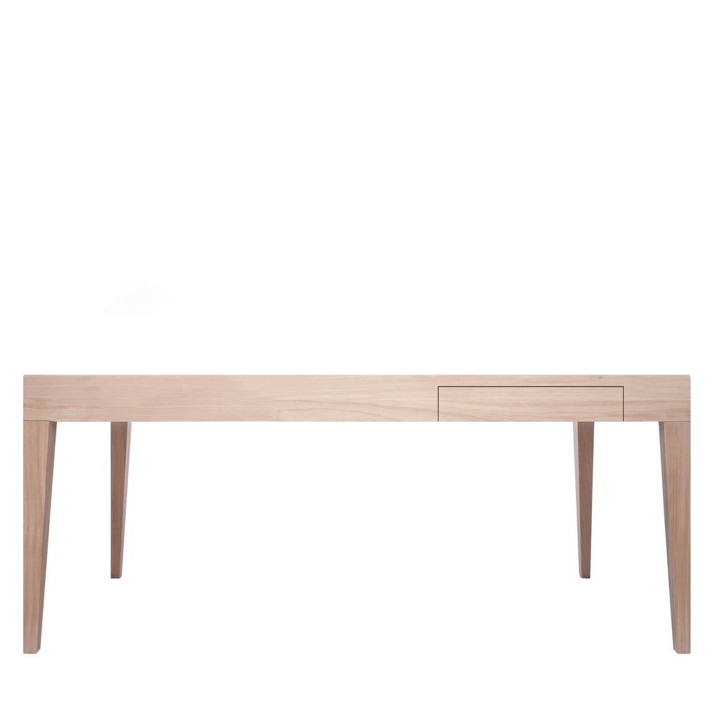 Another Brand - Cubo Rectangular Table with Drawer-DEVOTEDTO