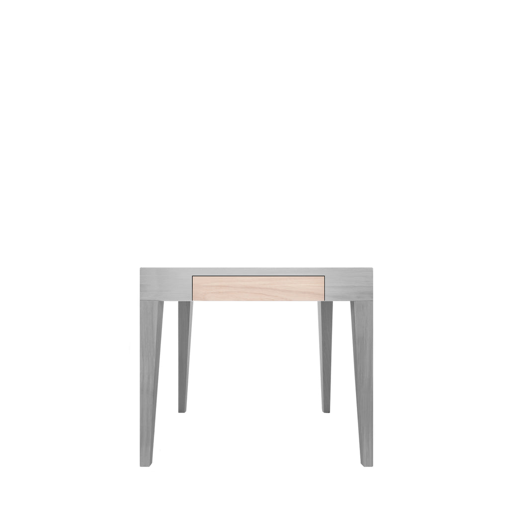 Another Brand - Cubo Square Table with Drawer-DEVOTEDTO