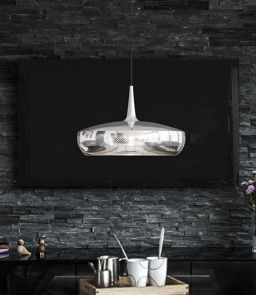 UMAGE - Clava Dine Pendant Shade - Polished Steel-DEVOTEDTO