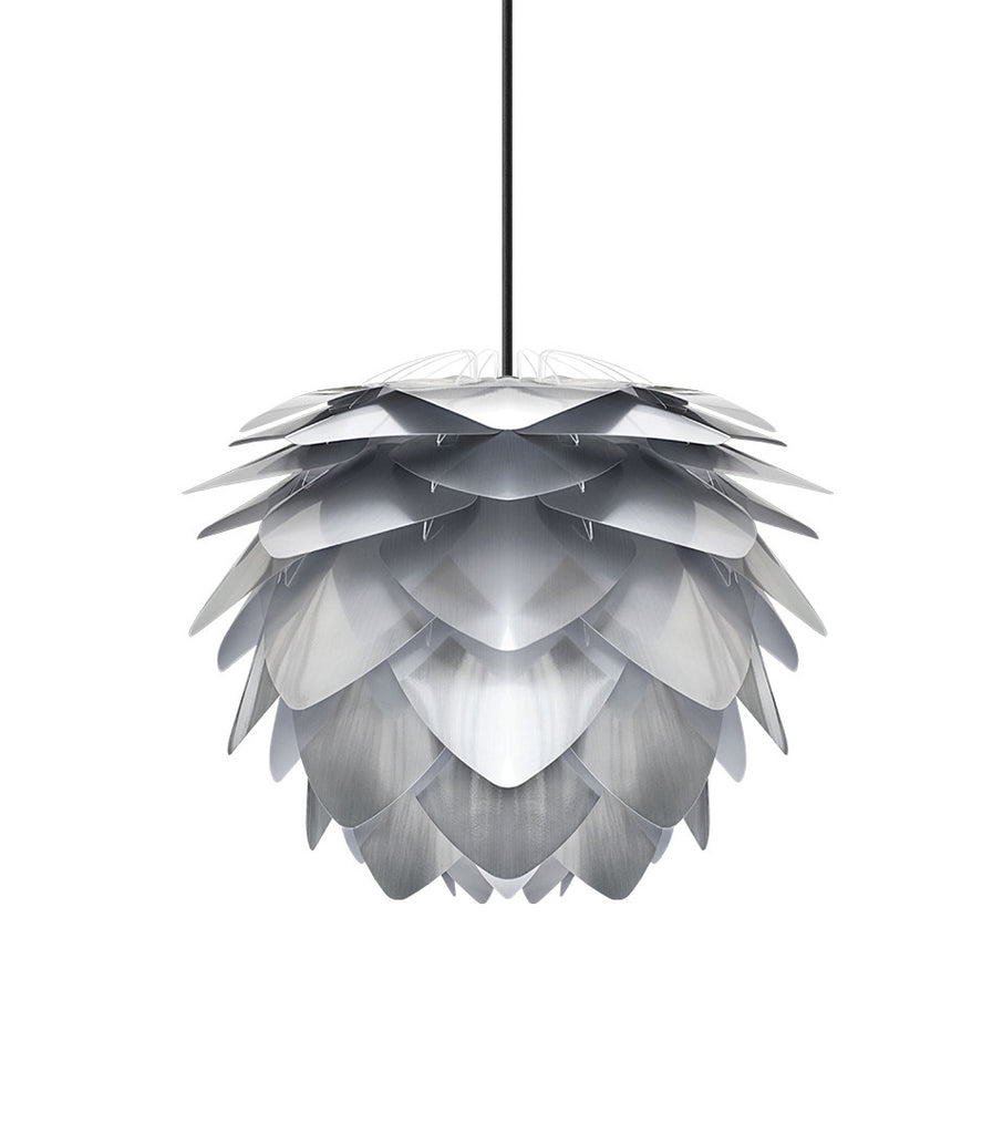 UMAGE - Silvia Brushed Steel Pendant Shade - 2 Sizes Available-DEVOTEDTO