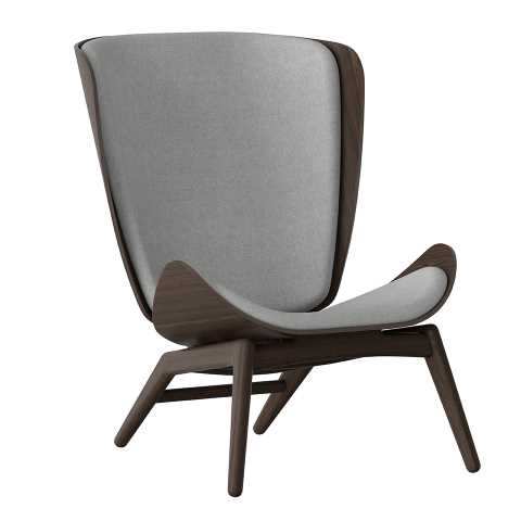 UMAGE - The Reader Wing Chair - Dark Oak - 3 Colours-DEVOTEDTO