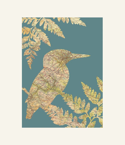 Kate Thornton - Yorkshire Kingfisher Print-DEVOTEDTO