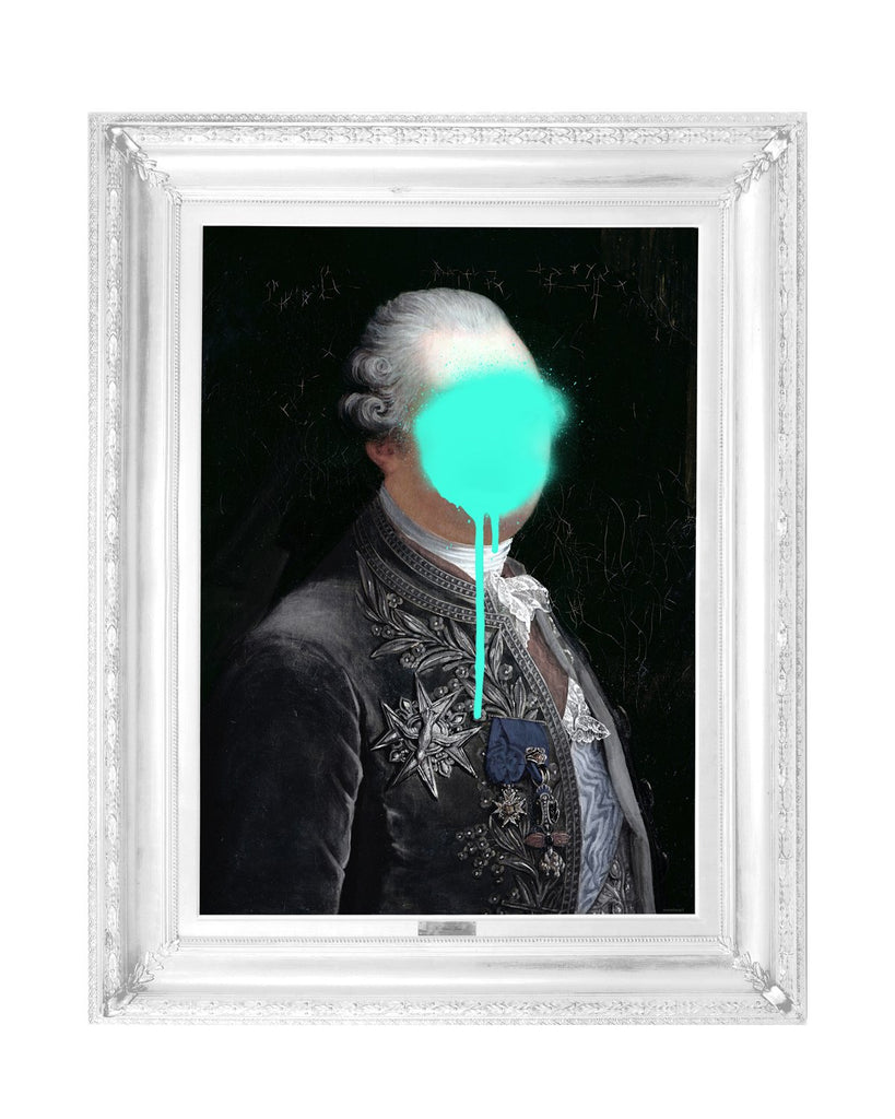 Monsieur Mint - Canvas-DEVOTEDTO