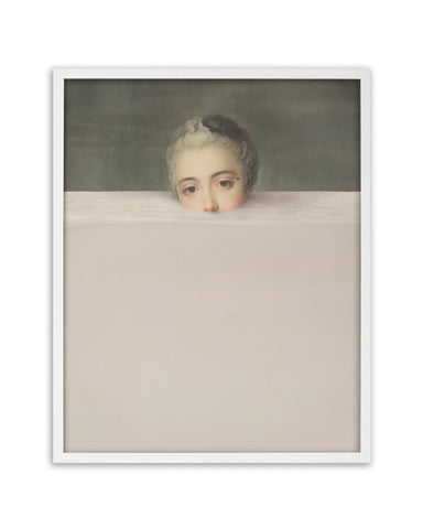 Submerged 2 - Framed Printed Canvas-DEVOTEDTO