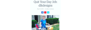 Work From Home Moms - Etsy Quit Your Day Job Feature