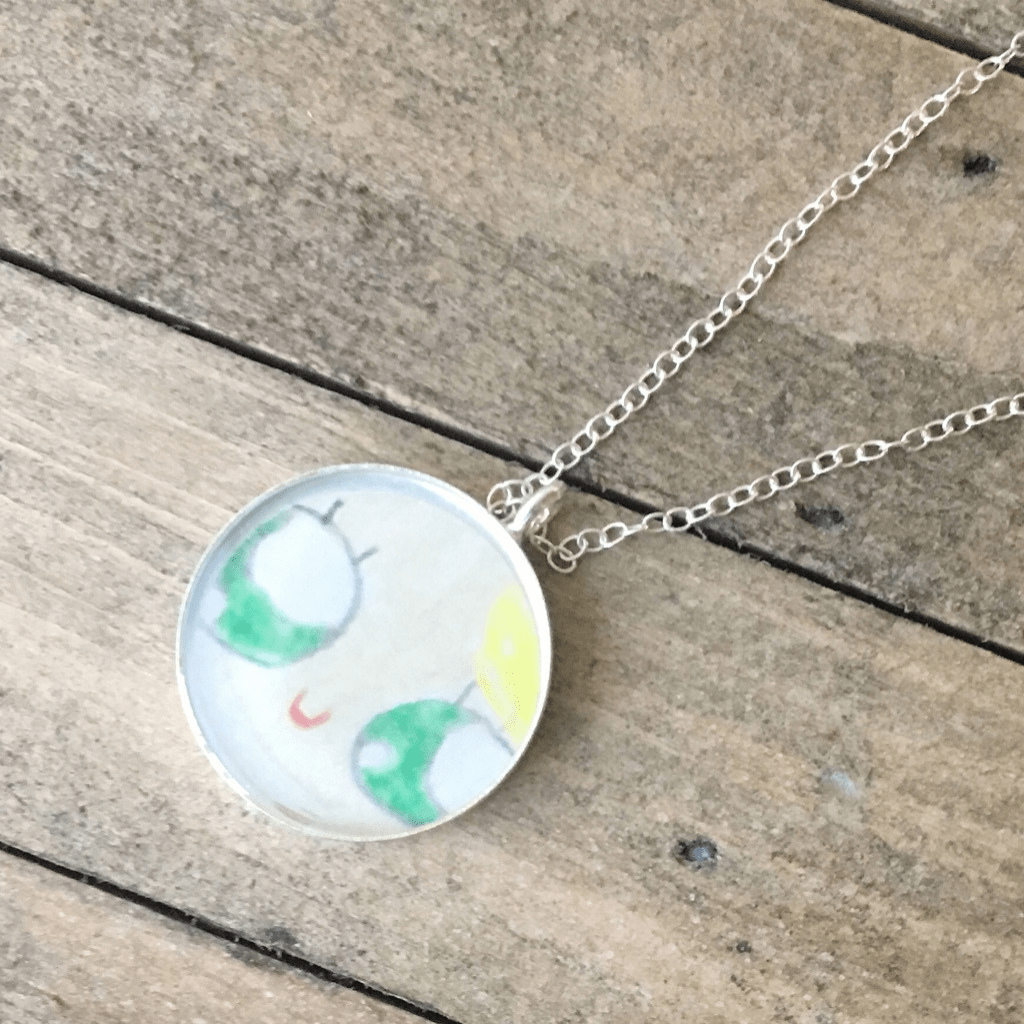 DLK Designs Kid Art Necklace