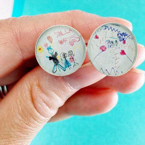DLK Designs Kids Art Cufflinks