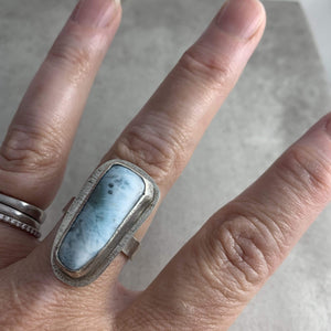 DLK Designs Larimar Wave Ring