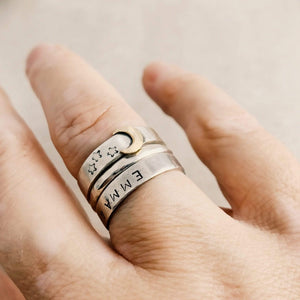 DLK Designs Look At The Moon Ring