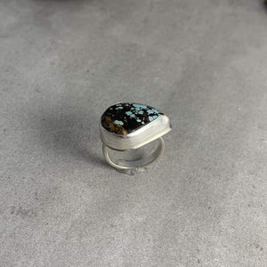 DLK Designs Super Chunky Hubei Turquoise Ring