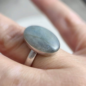 DLK Designs Transform Labradorite Ring
