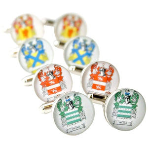dlkdesigns Cufflinks Family Crests Cufflinks