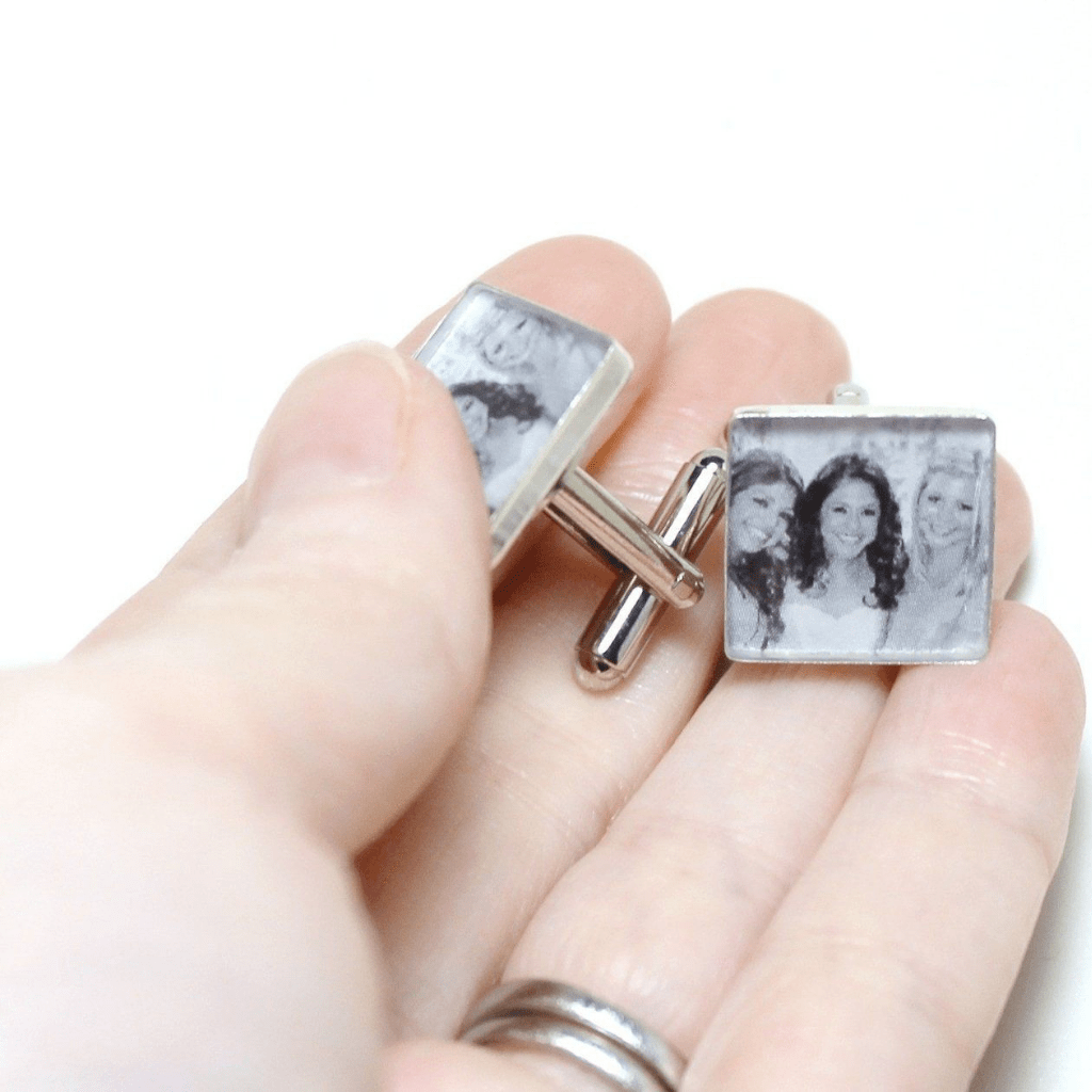 dlkdesigns Cufflinks Personalized Photo Cufflinks