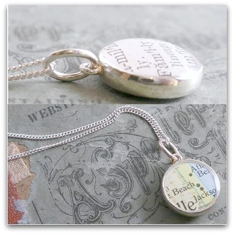 dlkdesigns Necklace Double Sided Customizable Pendant Necklace