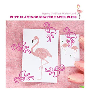 65%OFF——Paper Clips Cute Bookmark Clips(Pink, 1.5 inch)