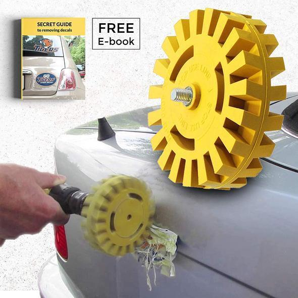 (50% OFF Today) Decal Eraser Removal Wheel Kit