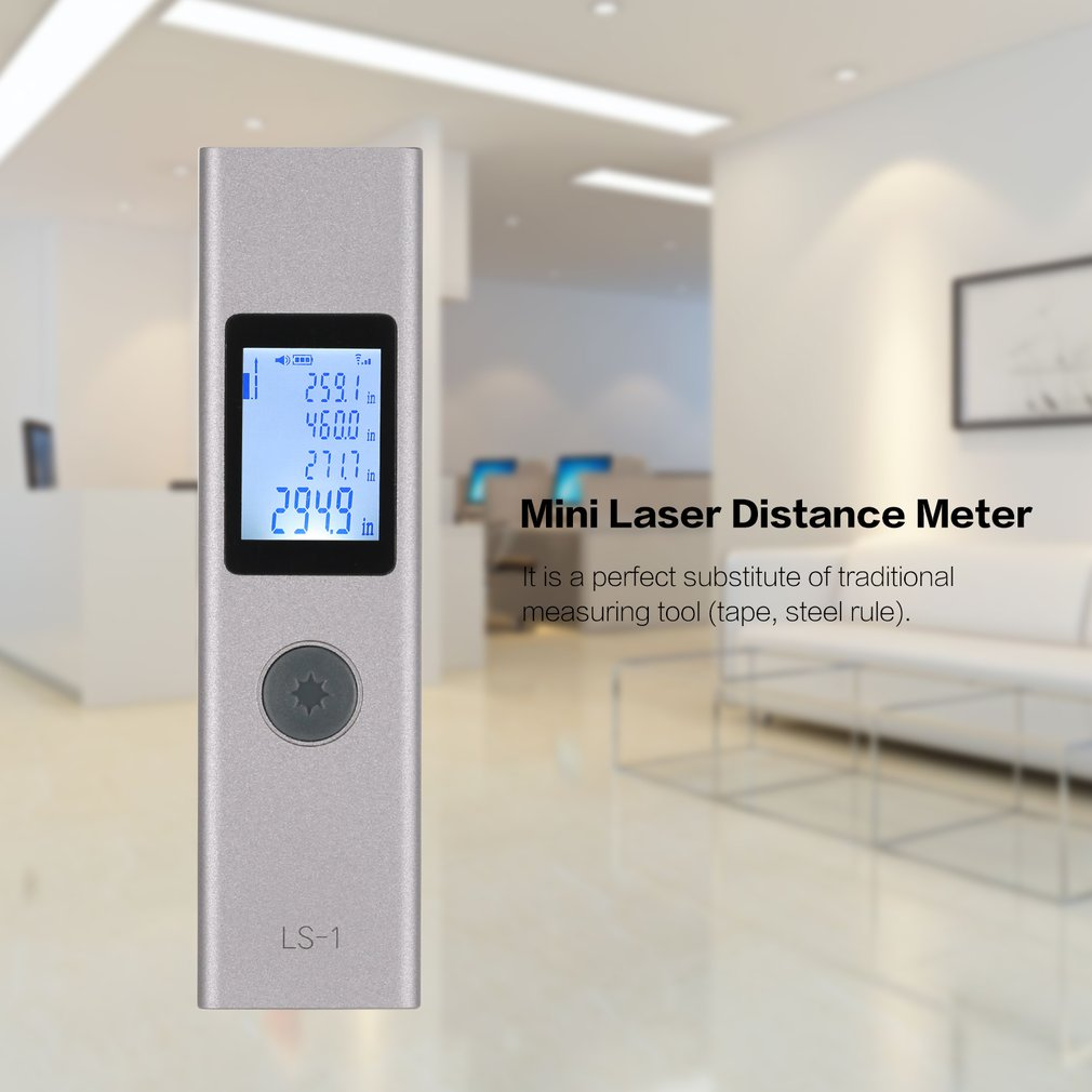 LS1 40m Mini Laser Distance Meter   🔥80% off  🔥Free shipping