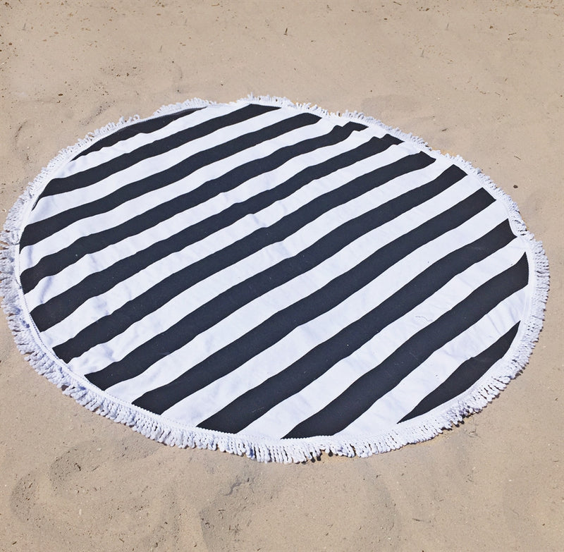 Great Gift! 100% Cotton Terry Round Towels