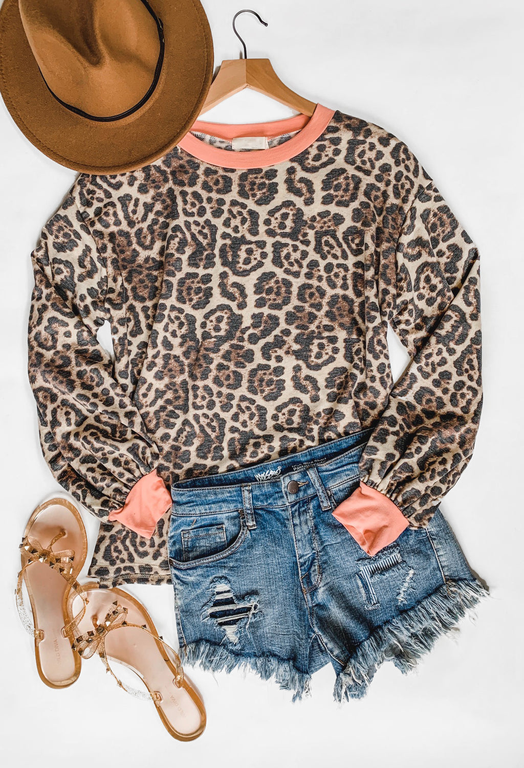 Zara Cheetah Top