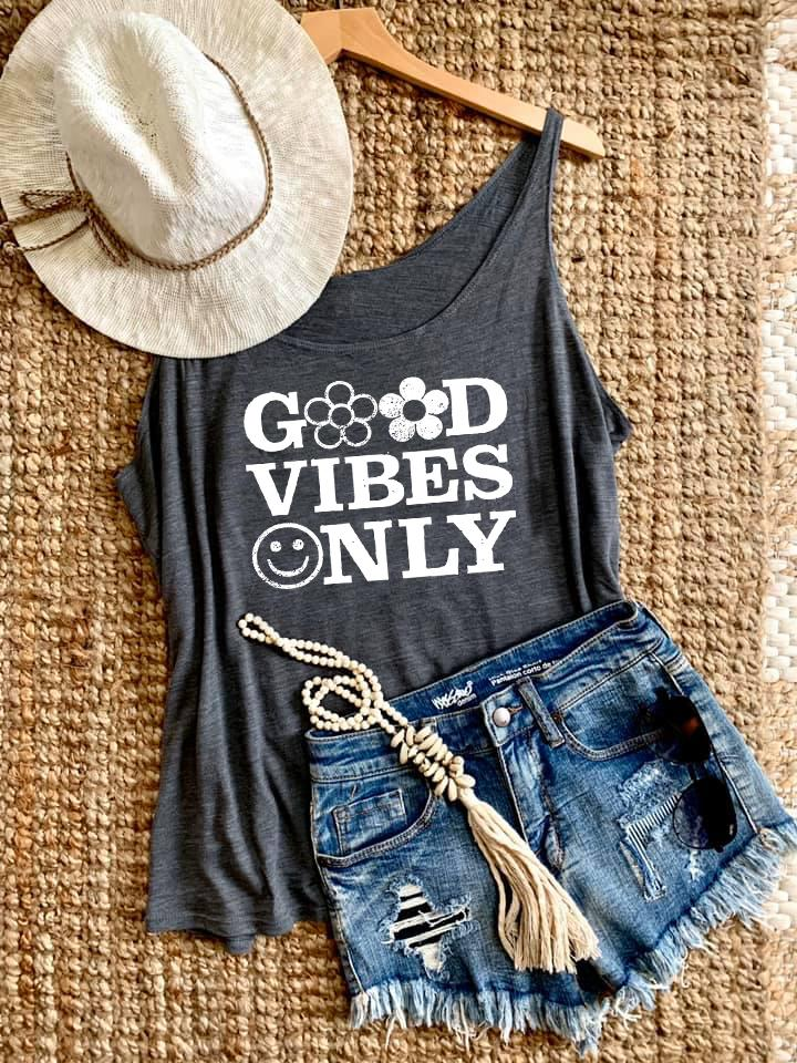 GOOD VIBES ONLY TANK