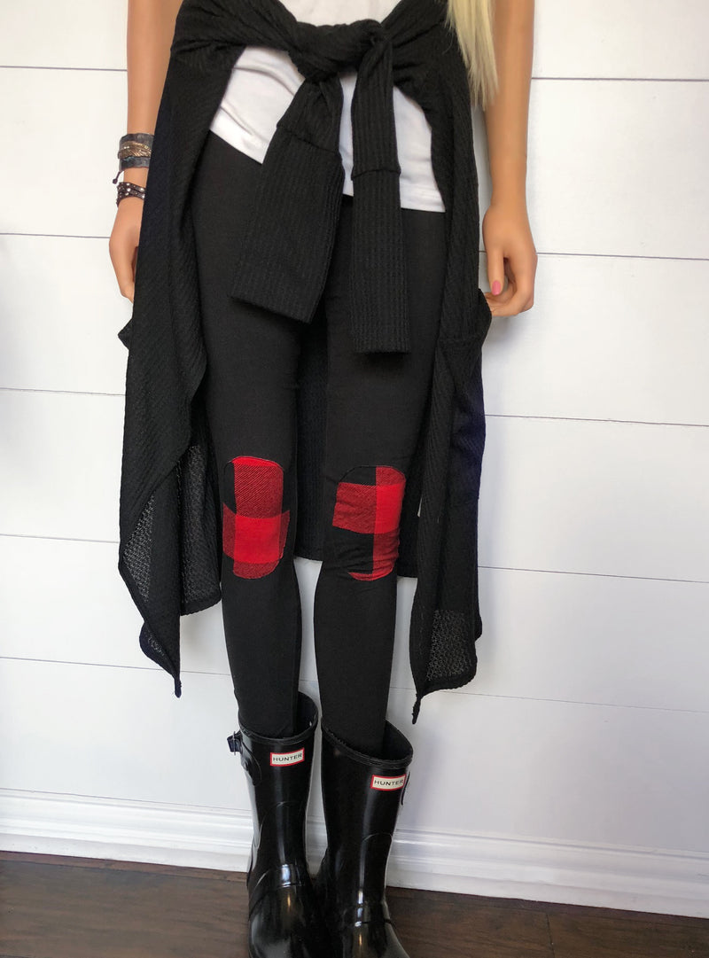 Knee Patch Leggings