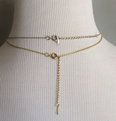 Classic Single Pearl Drop Necklace!