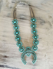 Squash Blossom Necklace! Vintage Inspired!