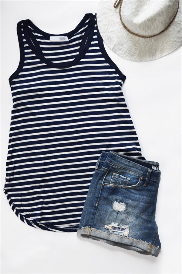 Stripe Easy Fit Tank | 5 Colors