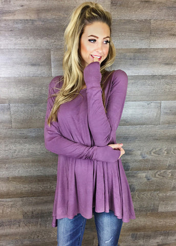 Butter Soft Thumb Hole Tunics - 4 Colors!