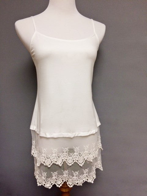 BEST SELLING!! LACE BOTTOM SHIRT EXTENDER