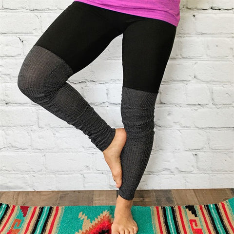 Duel Fabric Yoga Pants