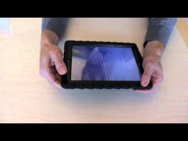 DropTech Case for iPad 2, 3, 4 Install