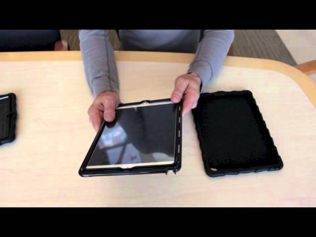 DropTech Case for iPad Air 2 Install